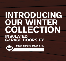 B&D Doors has Launched its Insulated Series