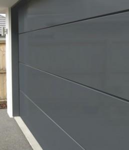 Negative Detail Sectional Door